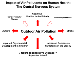 Air Pollution Impacts Brain Health 1